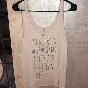 Forever 21 lingerie tank top